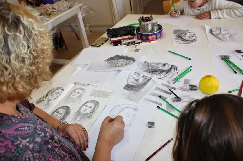 cours de dessin orchies